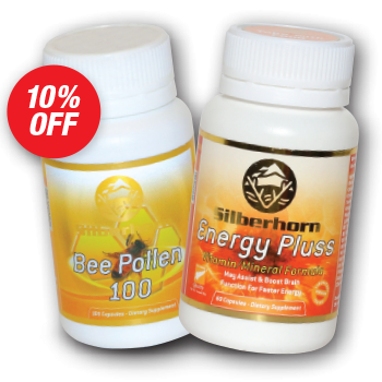 1x Energy Pluss + 1x Bee Pollen