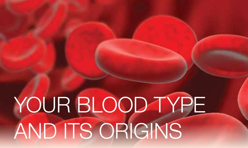 Your blood type and its origins